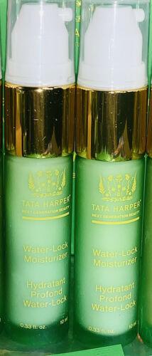 NWOB Tata Harper WATER LOCK MOISTURIZER 10mL X2 (20mL Ttl) NEW LAUNCH FRESH 1.7o