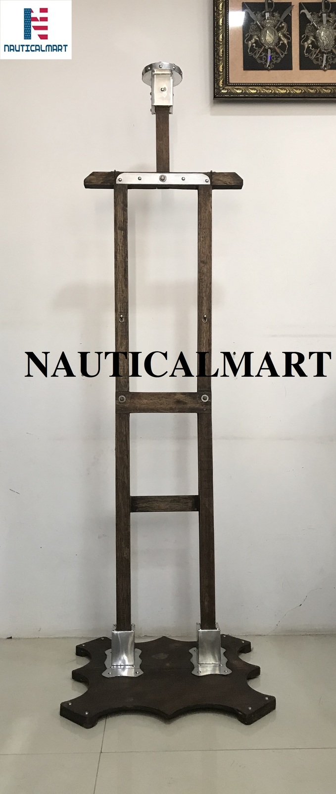 Primary image for NauticalMart Wooden Armor Stand