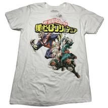 My Hero Academia Men's Size Medium Graphic T Shirt Hot Topic NEW white C... - £14.34 GBP