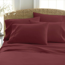6 Piece Deep Pocket 2100 Count Home Collection Series Ultra Soft Bed Sheet Set - $25.95+