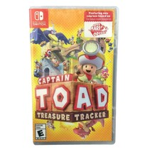 Nintendo Switch Captain Toad Treasure Tracker 2018 Video Game New Factor... - $39.55