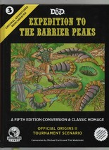 Expedition to the Barrier Peaks - Dungeons & Dragons 5th Ed Conversion &... - $47.03