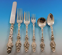 "Lily by Whiting Sterling Silver Flatware Set Service 70 pcs ""K"" Monogram... - $6,295.00"