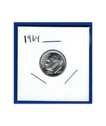 1964 Roosevelt Silver Dime - $6.50