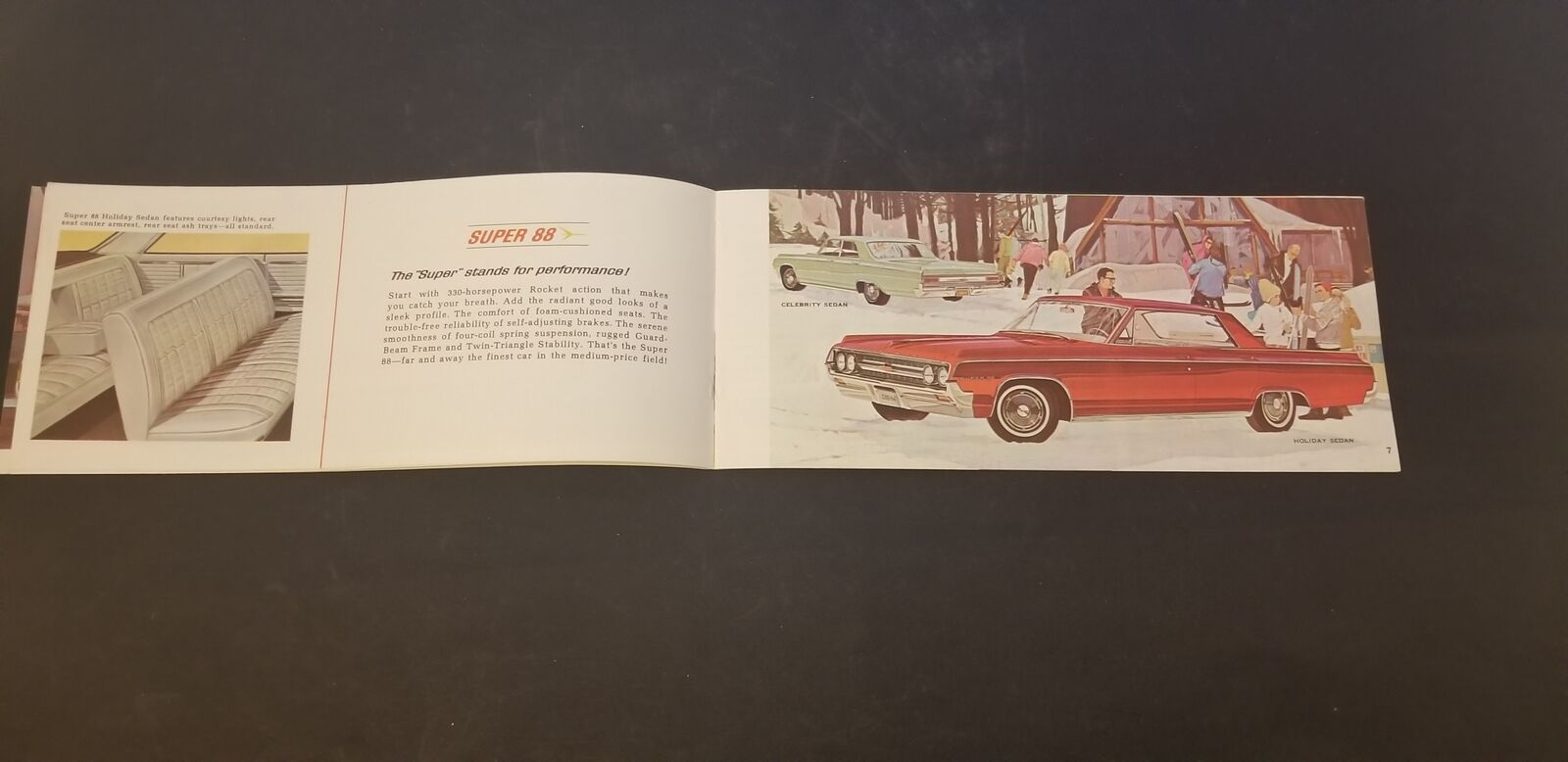 1965 Oldsmobile 98 Starfire F-85 Jetstar Delta /& Dynamic 88 442 Wagons Brochure