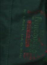 "El Rinconcito Mexicano Apron - Green & Red - Two Front Pockets - 20""x17"" - $3.91"