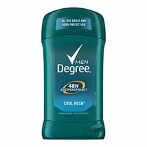 Degree Men Antiperspirant Deodorant odor and sweat protection Cool Rush ... - $19.36