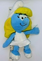 "Smurfette by Nanco Stuffed Plush Doll The Smurfs  2011  approx. 12"" - $14.84"