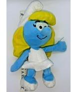 "Smurfette by Nanco Stuffed Plush Doll The Smurfs  2011  approx. 12"" - $14.84"