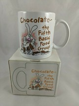 Hallmark Shoebox Greetings Coffee Mug Chocolate the Fifth Basic Food Group - $9.13