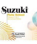 Suzuki Flute School, Volume 1 & 2 (CD) (The Suzuki Method Core Materials... - $10.77