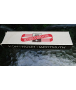 12 Vintage NOS L&C Hardtmuth Koh-I-Noor 1500 HB Pencil Drawing Drafting ... - $16.27