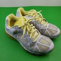 Nike Air Max 2011 429890-007 Womens Size 7 Running Shoes Yellow/Gray Tra... - $30.86