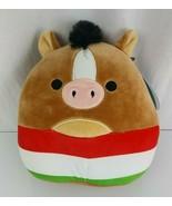 "Squishmallows Stuffed Plush Brisby Horse Pony 8"" Cinco De Mayo Fiesta To... - $32.66"
