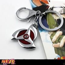 Naruto Hatake Kakashi Uchiha Obito Tobi Mangekyo Sharingan keychain keyring - $4.94