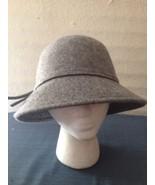 Croft And Barrow Grey 100% Wool Bucket Hat Cap (hb7)  - $13.56