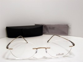 New Authentic Silhouette Titanium DLI Eyeglasses SIL 5212 6070 Austria 48mm - $166.28