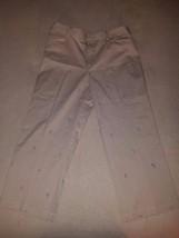 Rafaella women's Capri Pants w/ Embroidered Flo... - $23.36
