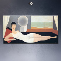 """Rene Magritte """"Bather,1925"""" HD print on canvas large wall picture 32x24"""" - $26.72"""