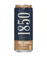 1850 By Folger Coffee Sweet Cream Flavor Iced Coffee 15 oz ( Pack of 6 ) - $19.79