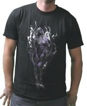 T.I.T.S. Mens Black Purple Natures Finest Sexy Woman Wifey Dark Tree T-Shirt NWT