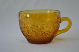 Indiana/Tiara Glass Early American Sandwich Glass Amber Tea Cup  #170 - $4.95