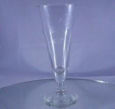 Princess House Heritage Footed Pilsner Beer Glass Parfait Dessert Flower Vase - $8.81