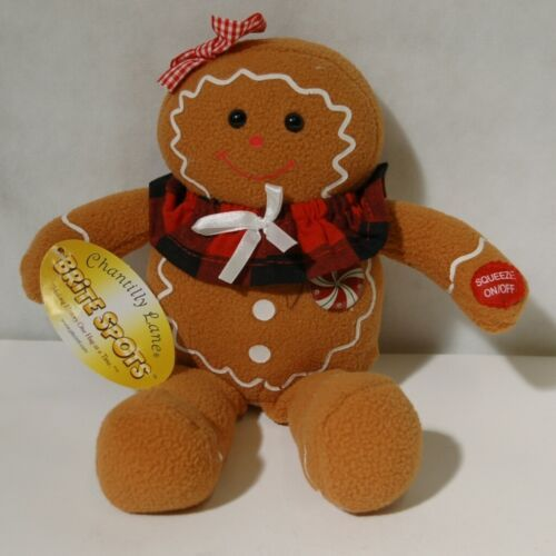 PBC G5007 Gingerbreads 8 Inch Brite Spots We Wish You A Merry Christmas