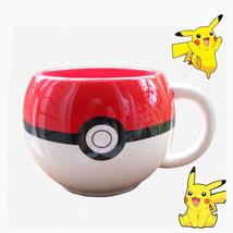 320ml Pokemon Coffee Mug Handgrip Ceramic Coffee Mug for boy surprise gift cup - $19.79