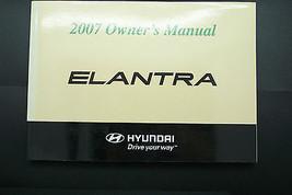 2007 hyundai elantra owners manual new original  - $13.55