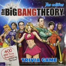 The Big Bang Theory Fan Edition Trivia Game Board Game New NIB  - $9.99