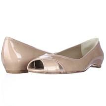 Stuart Weitzman Exflat Peep Toe Ballet Flats, Adobe, 7.5 US Display - $96.95