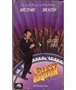The Glenn Miller Story VHS James Stewart June Allyson Henry Morgan - $1.99