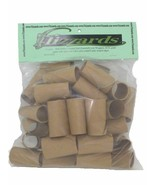 Half Dollar Crimped End (Gunshell) Coin Wrappers, 40 pack - $8.47
