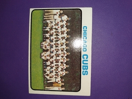 1973 Topps #464 Chicago Cubs Team Card - $3.19