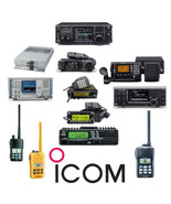 Over 550 Icom Service and Instruction Manuals Library * PDF * DVD - $12.99