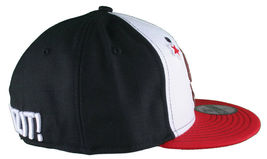Dissizit California Skating Bear Black Red New Era 59FIFTY Fitted Baseball Hat image 5