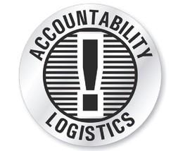 Accountability Logistics Hard Hat Decal Hardhat Sticker Helmet Label H197 - $1.79+