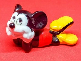 "Vintage Walt Disney Productions Disneyana Mickey Mouse Figurine 4"" Long - $10.52"