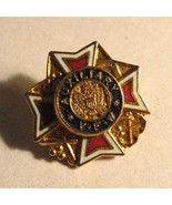 VFW Auxiliary Lapel Pin - Veterans Of Foreign Wars Military Soldier Lodg... - $19.79