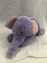 "Disney Store 14"" Plush Lumpy The Heffalump Purple Elephant Stuffed Animal - $22.76"