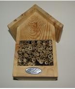 Bee House New Esschert Design Wood with Tubes Inside  - $24.74
