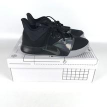 Nike PG 3 Paul George Basketball Shoes Men's Size 7 Black/Gray AO2607 003 - $83.16