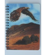 Eagle in flight with 3D picture Notebook - $5.23