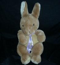 "16"" VINTAGE ANIMAL FAIR BROWN BABY EASTER BUNNY RABBIT STUFFED PLUSH TOY... - $32.73"