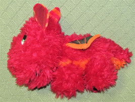 STUFFIES BABY BLAZE RED DRAGON STUFFED ANIMAL SECRET POCKETS MAGNETIC PL... - $13.86