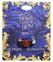 Disney Beauty & The Beast Live Action Movie True Beauty Replica Ring Size 7 - $13.36