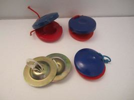 Castanets & Hand Cymbals Musical Fun! Percussion Tool Toy - $4.00