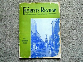 Florists' Review A Weekly Journal for Florists, Seedmen and Nurserymen 1940 - $9.89