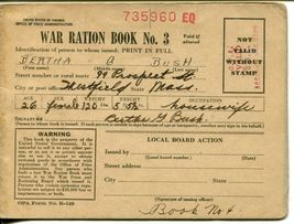 WWII USA Cover V-mail Postage Ration Book Stamps Army Military Collection image 4